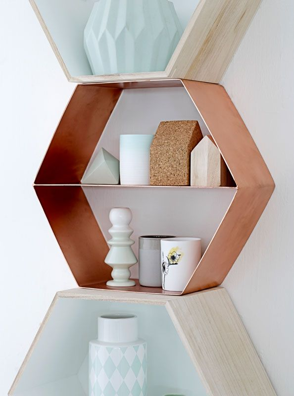 I feel like I'm going to HATE hexagons in like a year, but I still think these might look nice in my bathroom.