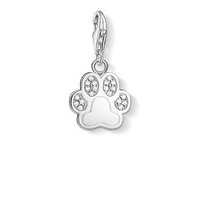 "Charm pendant ""paw"" from the Charm Club collection in the THOMAS SABO online store"
