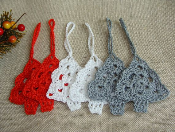 Christmas Tree Decorations, Christmas Ornaments, Christmas Decorations, Crochet Tree
