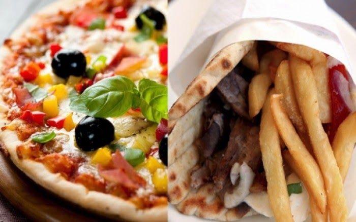 Πίτσα vs Σουβλάκι: Ποιό έχει περισσότερες θερμίδες (;) ~ Break Time