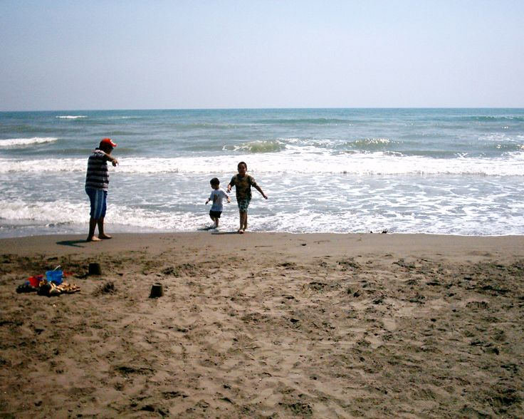 Playa, Veracruz, México.