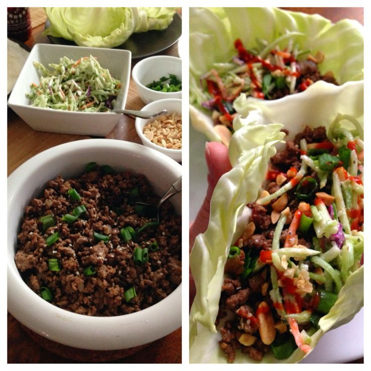 korean beef cabbage tacos with asian broccoli slaw. fast, easy, cheap, healthy, and delicious.