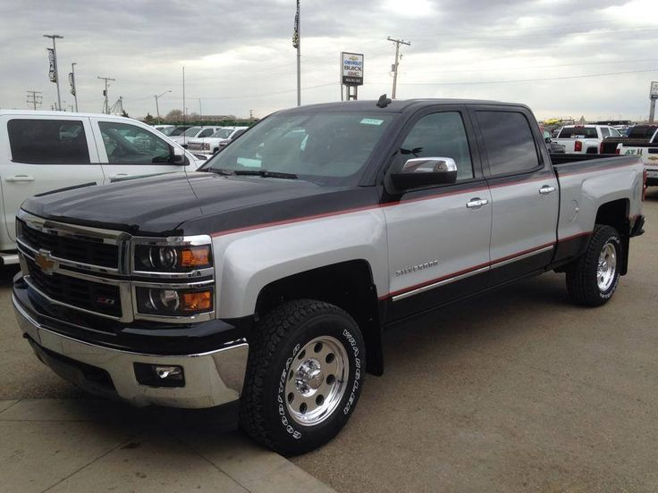 2 tone chevy silverado 2015 | Trucks | Pinterest | Chevy ...