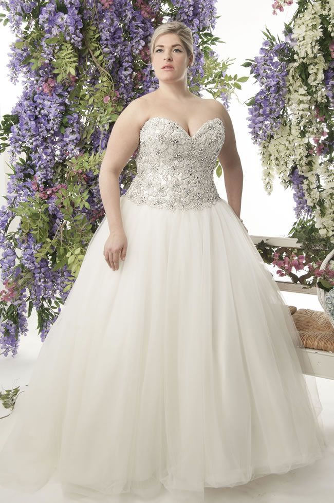 Curvy Brides Will Love This Lace Collection From Callista Wedding Dresses Pinterest And Bridal