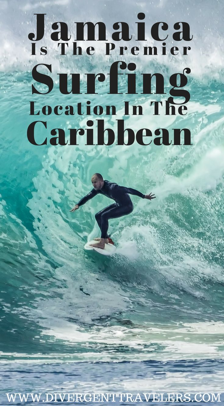 Although the Caribbean island of Jamaica is best known for its calm seas, laid back atmosphere, white sand beaches and all inclusive jamaica resorts, the island of Jamaica is becoming known as one of the premier surfing location in the Caribbean. Click to read more at https://www.divergenttravelers.com/surfing-in-jamaica/