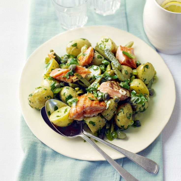 This tangy warm salad recipe really makes the most of new potatoes. It's perfect for feeding a crowd, as it won't collapse if left out for a while