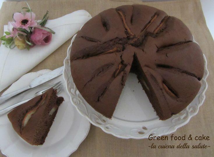 TORTA CIOCCO-PERE http://blog.giallozafferano.it/greenfoodandcake/torta-ciocco-pere/