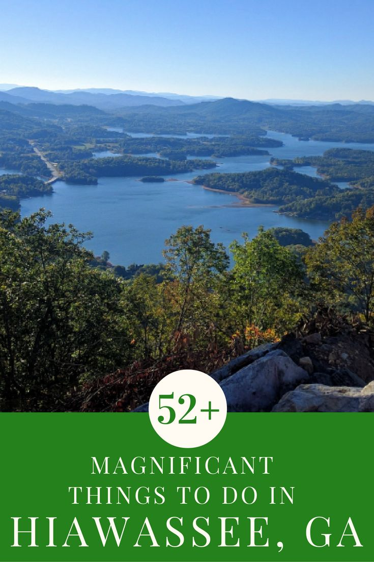 We discovered more than 52 fun things to do in Hiawassee, Ga. during a stay at the Ridges Resort and Marina on beautiful Lake Chatuge. It was a perfect North Georgia Weekend!