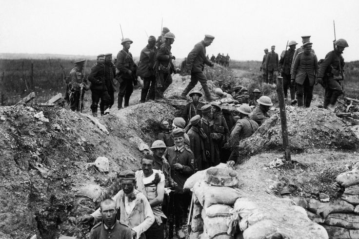 Battle of the Somme 1916.