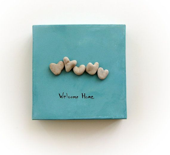 Unique Hanukkah Gift   genuine Heart shaped by MedBeachStones, $39.00