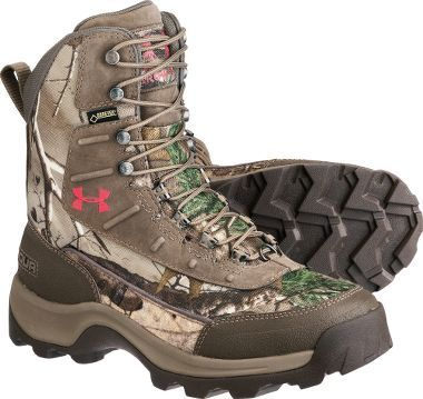 Find out if they have 1200g...Under Armour® Women's Brow Tine 800-Gram Hunting Boots : Cabela's