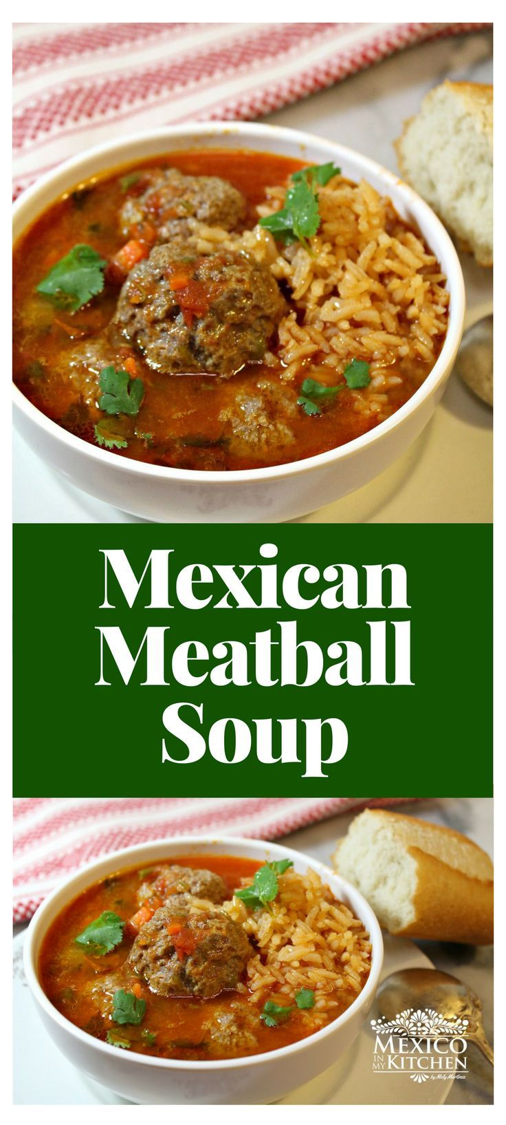 There's norocket science here, just an easy process with common ingredients and you'vegot an extraordinary soup that I'm sure everyone in your family, even thelittle ones, will love.#recipe #mexican #food #soups