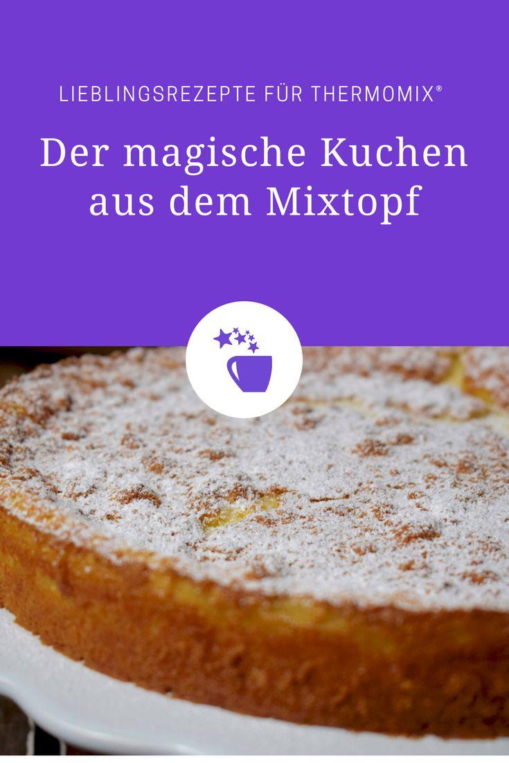 Magic Cake aus dem Thermomix®? Magisch, weil sich beim Backen in ein kleines Kunstwerk verwandelt. Seht selbst!
