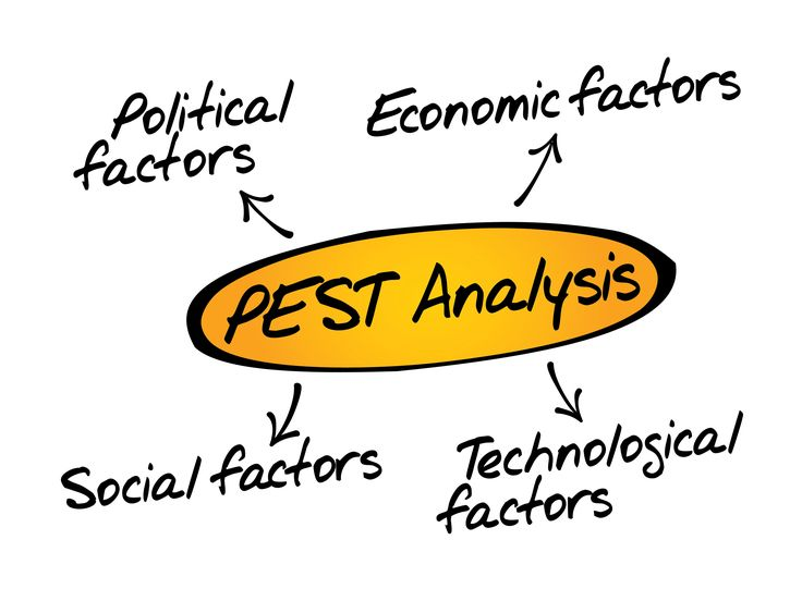 PEST Analysis - Slideshow https://www.brightonsbm.com/news/pest-analysis/