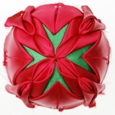 Free Folded Star Ornament Pattern | Folded Fabric Ornaments - Stars!