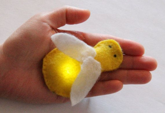 These are adorable! Make your own firefly plush with an LED inside :) firefly etextiles kit by bitwiseEtextiles on Etsy, $50.00