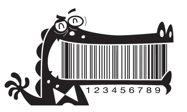 Whimsical Illustrated Barcodes, Make Product Packaging More Fun - DesignTAXI.com