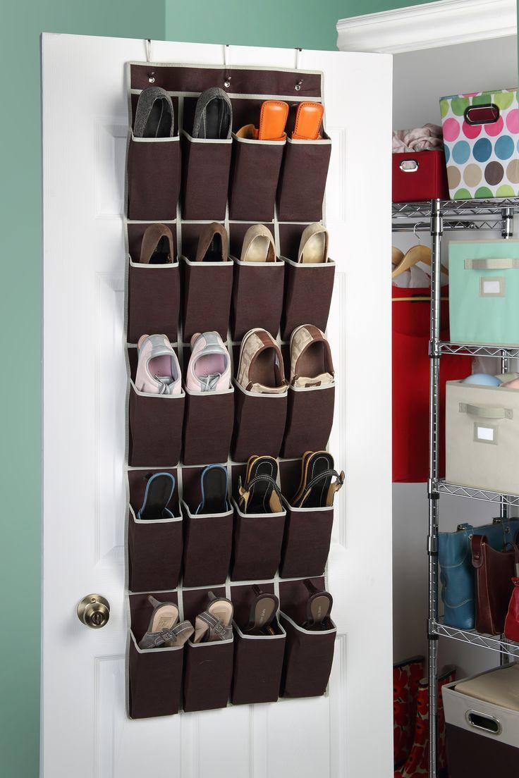 Con un organizador podrás mantener tus zapatos en orden y bien cuidados.