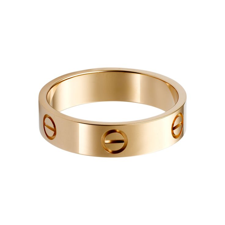 cartier love ring in pink gold u003c3
