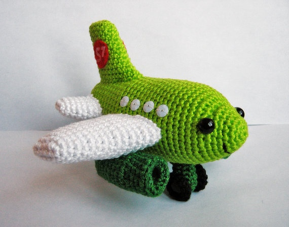 Small Plane Crochet PDF