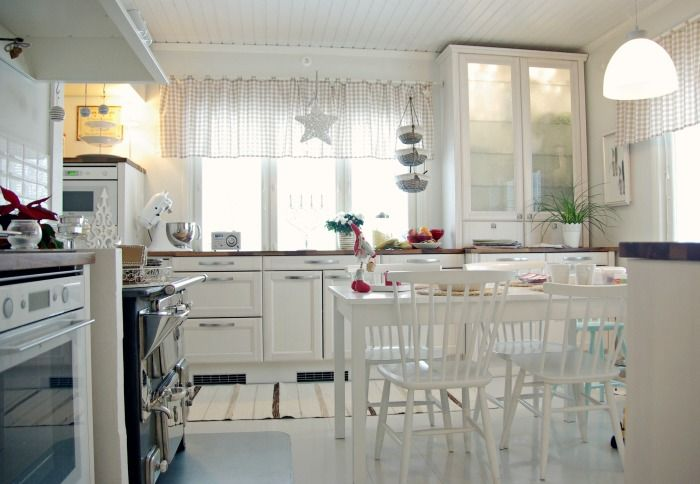 Tarja's Snowland / renovated kitchenscandinavian home / scandinavian house / scandinavian kitchen