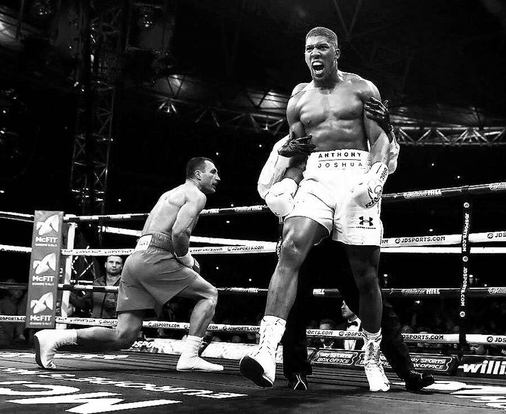 """""""Nobody ever moved forward by standing still."""" @anthony_joshua"""""""