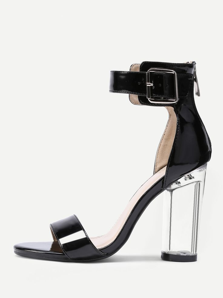 Shop Two Part Clear Heeled Sandals online. SheIn offers Two Part Clear Heeled Sandals & more to fit your fashionable needs.