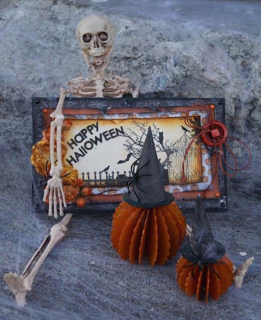 Mitt Lille Papirverksted: Happy Halloween