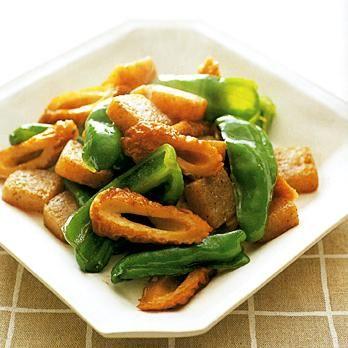 ピーマンとちくわ、こんにゃくのいり煮 | 藤野嘉子さんのおつまみの料理レシピ | プロの簡単料理レシピはレタスクラブニュース
