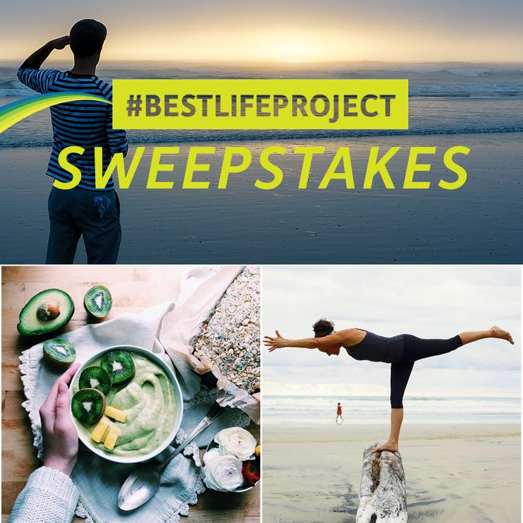 Enter to win a 1 year supply of Vega, Vitamix Blender & $1500 for your #BESTLIFEPROJECT