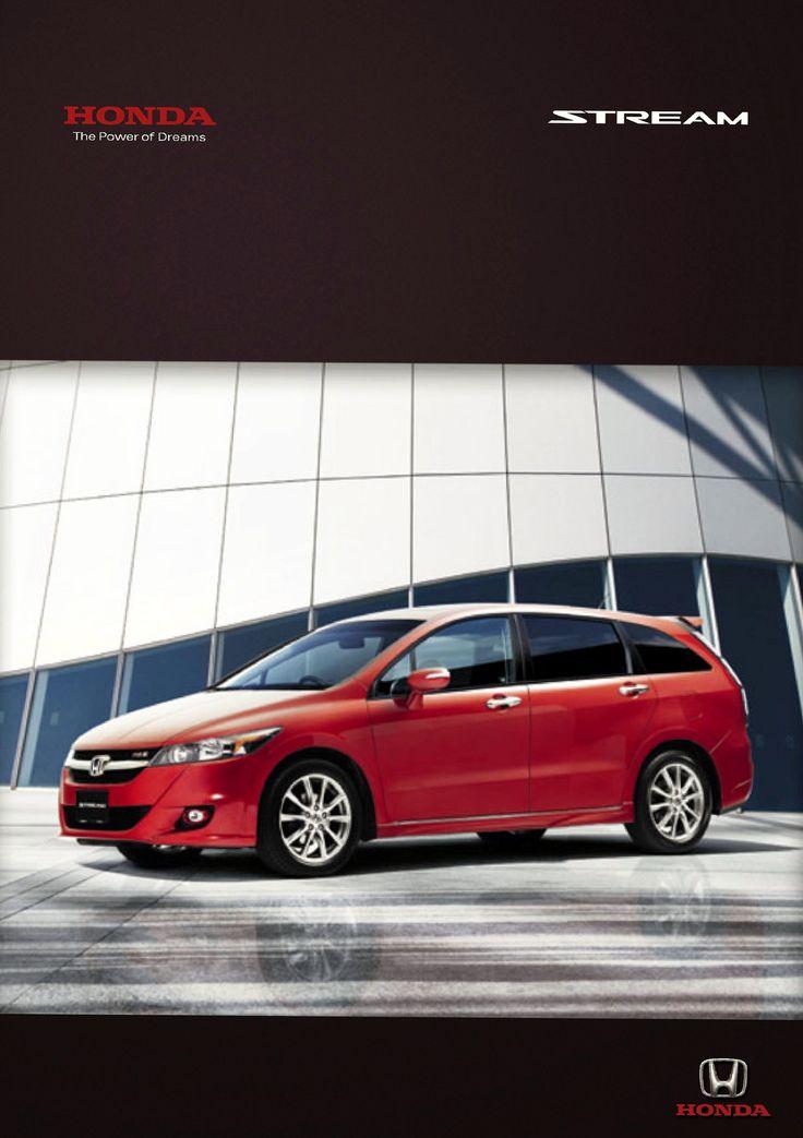 Honda Stream Mk2 Singapore Brochure 2012