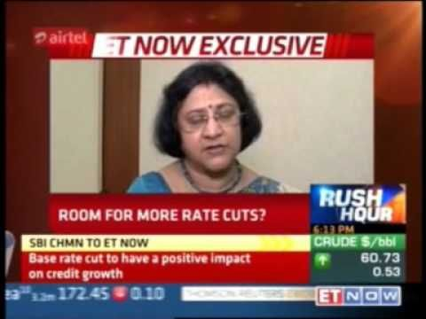 Chairman Ms. Arundhati Bhattacharya talks to ET NOW(Business Day) on cut...