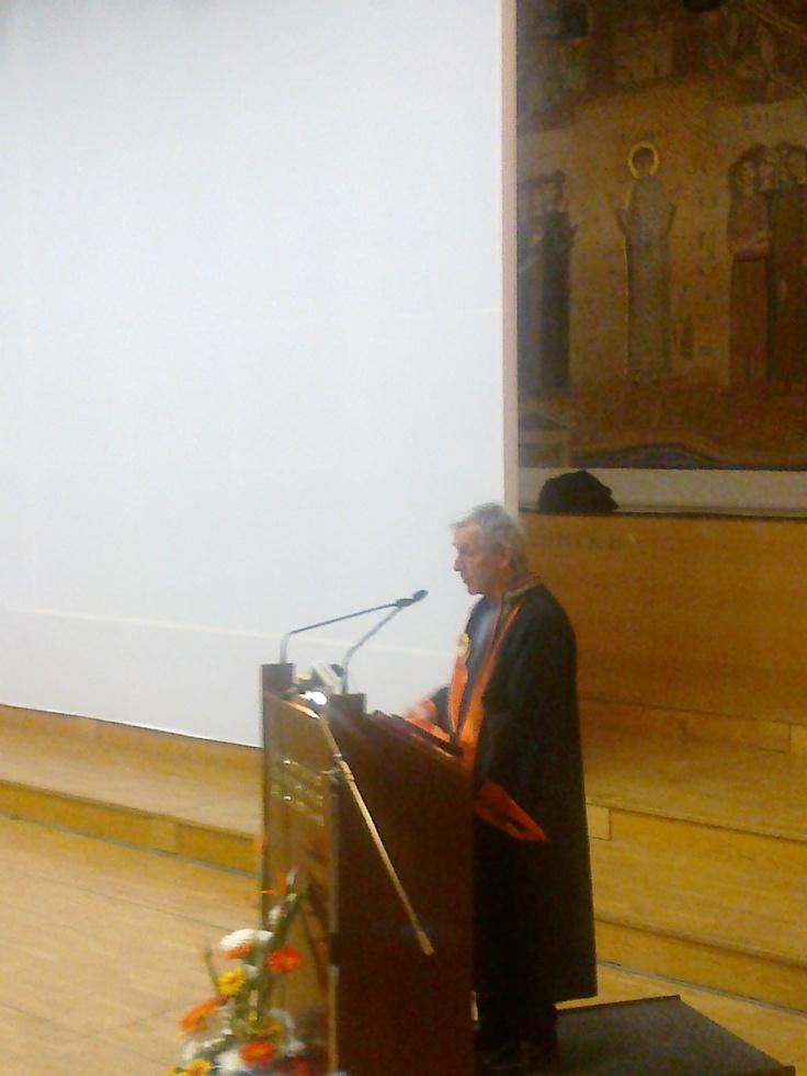 Costa Gavras Honorary Doctorate of Thessaloniki Film School (Aristotelian University of Thessaloniki)