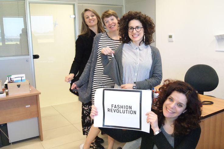 Fashion Revolution Day. 24.04.16 #FashRev #FashionRevolution #Whomademyclothes #chihafattoituoivestiti #ethicalwear #sustainableclothes #reuse #reduce #rewear #recycle