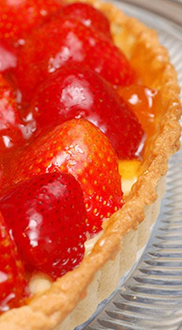 Julia Child's Fresh Strawberry Tart