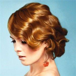 Укладка волнами на средние волосы