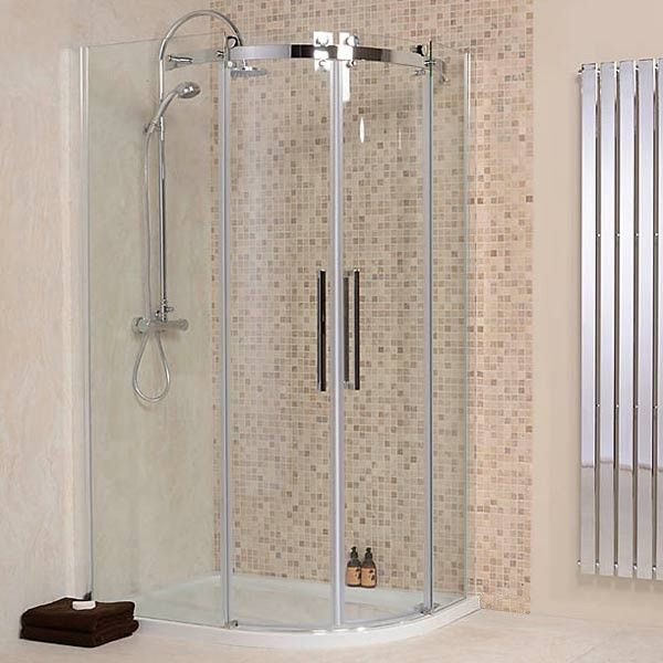 The AqauStream Elite 1200 x 800 Left Hand Quadrant enclosure, priced at £415.95. A state of the art design concept. Architectural design combined with 8mm toughened safety glass. Unbeatable quality and an astonishingly low price. Order now at - http://www.taps.co.uk/1200-x-800-aquastream-elite-8mm-left-hand-offset-quadrant-enclosure.html