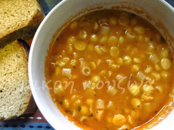 μικρή κουζίνα: Ρεβίθια σούπα με κοφτό μακαρονάκι, μια ιταλική συν...