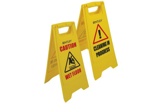 Bentley Professional Floor Warning Sign: This double sided wet floor sign features a clear black and red… #UKShopping #OnlineShopping