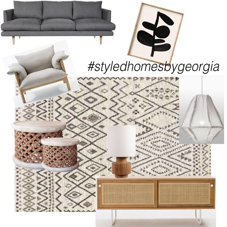 Neutral Living Room to complement the neutral entry foyer I designed. What do you guys think? #uistylistscout #moodboard #livingroom #neutralinterior #interiors #design #propertystylist #melbournestylist #interiordecorator #styledhomesbygeorgia