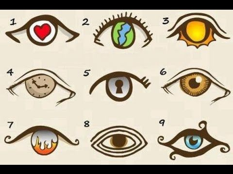 test de personalidad con ojos