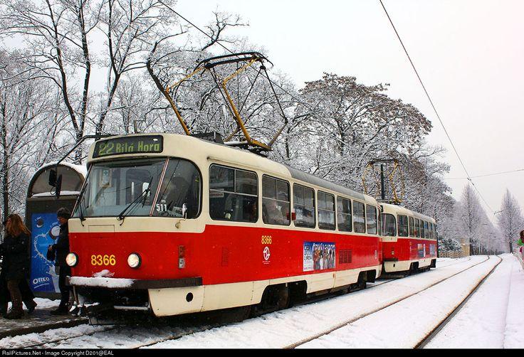 RailPictures.Net Photo: 8366 Dopravni Podniky Praha Tatra T3R.P at Prague, Czech Republic by D201@EAL