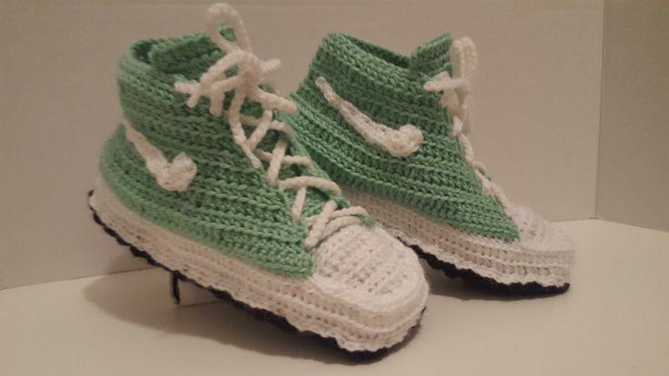 Nike High Top Sneaker Slippers