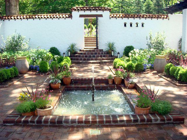 Courtyard concept...need more contemporary