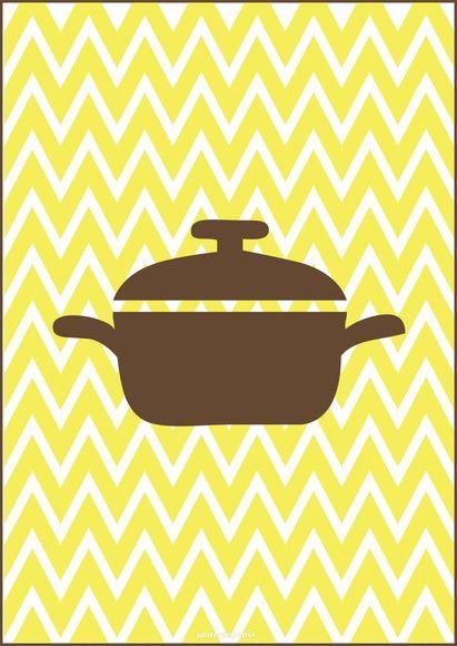 Imagens para quadro da cozinha