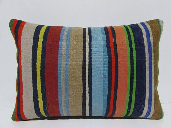 unusual cushion 16X24 southwest pillow by DECOLICKILIMPILLOWS