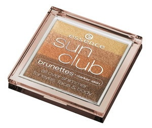 Essence - Sun Club all over shimmer for eyes, face & body