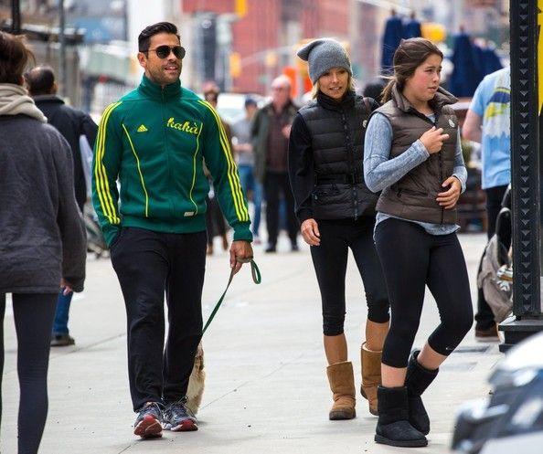 Kelly Ripa - Kelly Ripa & Family Hit The Gym In NYC