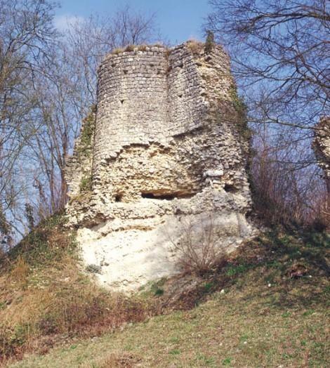 Motte féodale de Montchauvet Située en face de la Porte de Bretagne, dans l'interfluve entre la Vaucouleurs et le ru des Trois Fontaines, cette motte est sans doute antérieure d'un siècle à la Porte et aux remparts. Elle était autrefois surmontée d'un château dont le donjon était vraisemblablement carré,