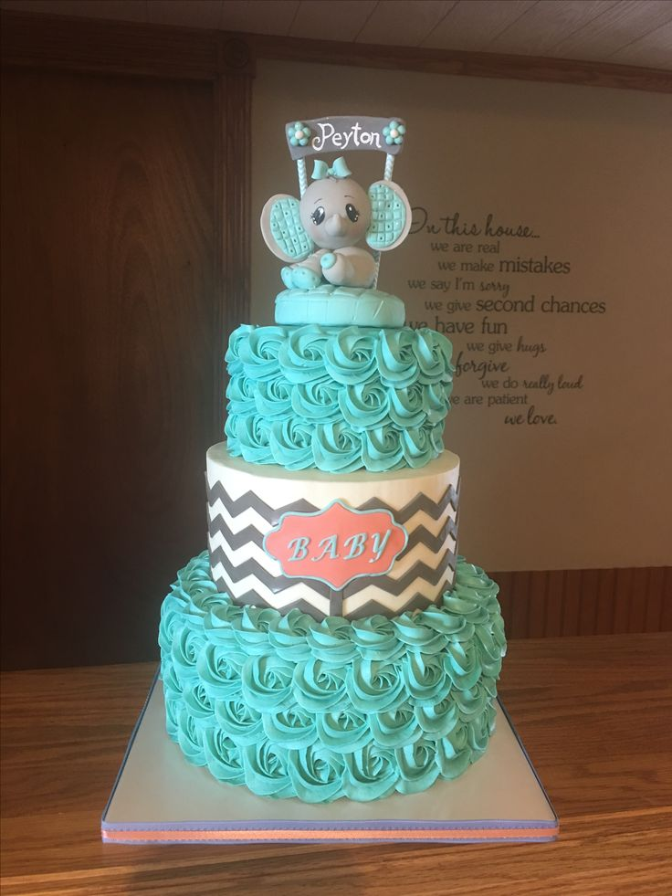 25 Best Ideas About Teal Baby Showers On Pinterest